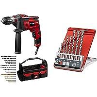 Einhell Schlagbohrmaschinen-Set TC-ID 1000 E Kit (1.010 W,Bohrleistung Holz 32 mm,Metall 13 mm,Beton 16 mm,13 mm…