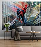 Sunny Decor SD439 Fototapete Marvel Spider-Man Rush, Bunt