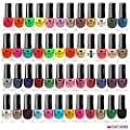 48 x NAIL POLISH VARNISH SET 48 DIFFERENT BRIGHT MODERN COLOURS UK