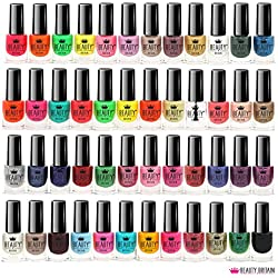 Set de 48 botes de laca de uñas, 48 colores distintos