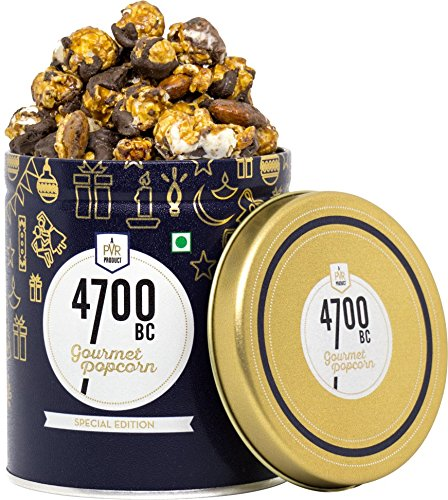4700BC Mocha Walnut Chocolate Popcorn, Tin, 650g