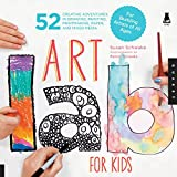 Art Lab for Kids: 52 Creative Adventures in Drawing, Painting, Printmaking, Paper, and Mixed Media-For Budding Artists (Lab Series)