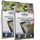 2 x 12,5 kg Bosch Special Light High Premium Hundefutter