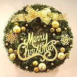 PRIDE C 50 centimetri di Natale Corona di 60 centimetri Lettera Piastra Decorazione di Natale Corona di cinghia Porta Rattan Natale