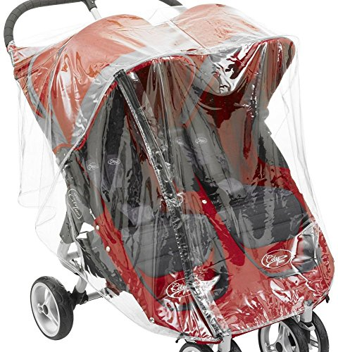 Regenschutz Kinderwagen City Mini Double und GT mit Baby Jogger - Mini Double City Jogger