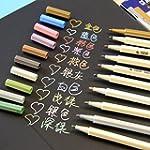 VStoy Metallic Marker Pens, Satz von...
