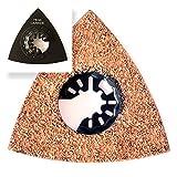 Carbide Sägeblatt Dreieck Raspel Deltaschleifer Schleifscheibe 78mm für Multifunktionswerkzeuge Starlock, Starlock Max, Starlock Plus