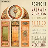 Vetrate di Chiesa (Church Windows) - Il Tramonto (The Sunset) - Trittico Boticelliano