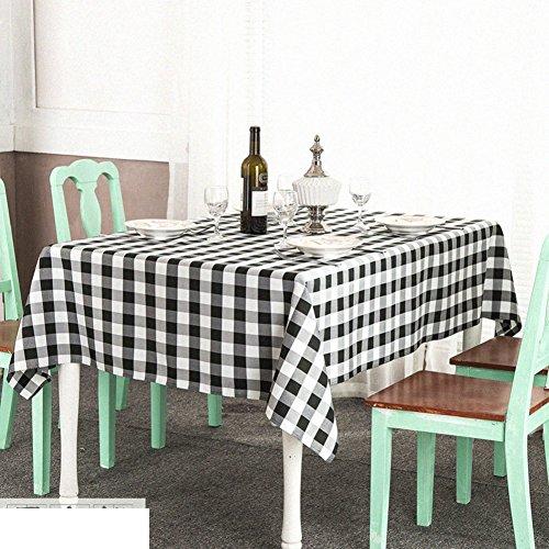 American pastoral längliche Plaid Tabelle Tuchgewebe literarische Coffee Table Cloth Runde...