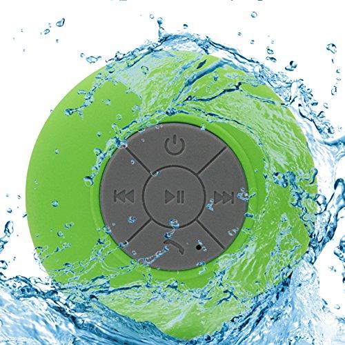 Grün Ultra tragbare wasserdichte Bluetooth kabellose Stereo-Lautsprecher mit Saugnapf für Duschen Badezimmer Für ZTE Nubia Z5S