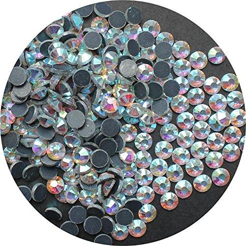 TSS Kristall AB SS20-5mm 1000Stück DMC Glas Hot Fix Flat Back Eisen auf Strass mit Perlen-PREMIUM QUALITÄT