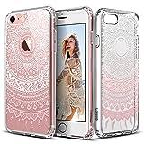 iPhone 7 Hülle, ESR iPhone 7 Bumper Case Hybrid Hülle, Weiche TPU Rahmen + Hart PC Rückdeckel Muster Schutzhülle für iPhone 7 (4,7 Zoll) (Manjusaka)