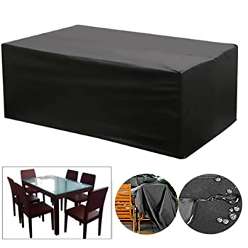 Bosmere C48 Premium Rectangular Table Cover Amazoncouk Garden Mesmerizing Dining Room Table Cover Pads Exterior