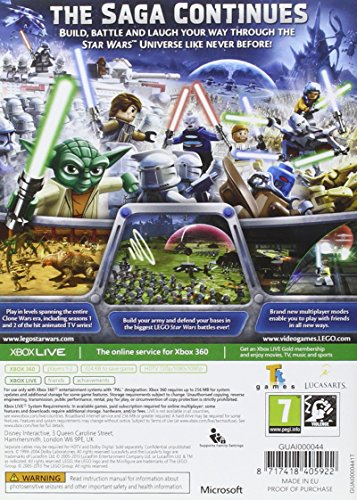 Image of LEGO Star Wars III Clone Wars (Xbox 360)