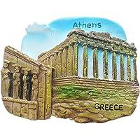 Aimant de réfrigérateur 3D Souvenir d'Athènes Grèce Décoration de maison et de cuisine Autocollant magnétique Grèce…