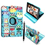 Kamal Star® Apple iPad Mini 4 Ultra Slim Cover Smart Leather Case with Stand / Auto Sleep Wake-up+Free Stylus (Sky Blue
