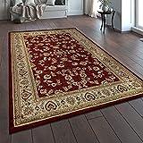Paco Home Orientteppich Traditionell Klassische Optik Persisch Floral Rot Beige Creme, Grösse:160x230 cm