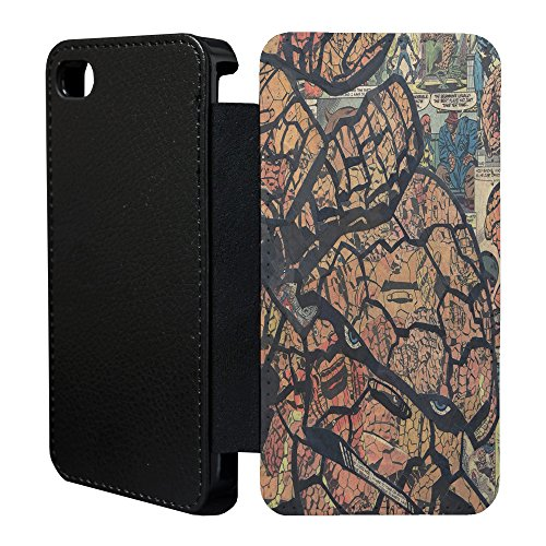 DC Marvel Comic Book Case Flip Tasche Cover für Apple iPhone 5–5S – Batman – 926 The Thing - 927