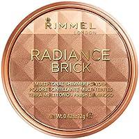 Rimmel Number 001 Radiance Brick Bronzer, 12 g, Light