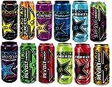12 Dosen Rockstar Energy Drink Probierset verschiedene Sorten 12 x 500ml inc. 3.00€ EINWEG Pfand