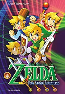 The Legend of Zelda - The Four Swords Adventures Edition simple Tome 1