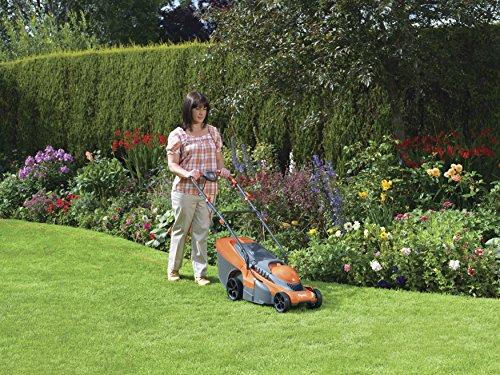 Flymo Chevron 34C 34cm Cut Wheeled Electric Lawn Mower