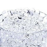 homiki 10 paquet Perles d'Eau Cristaux d'eau Eau Cristal sol Bio Gel Boule Perles pour Décoration de Mariage Vase Centerpiece