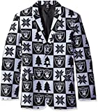 Forever Collectibles NFL Patches Business Jacke, unisex, BSTJKTNFPAT, Oakland Raiders, S