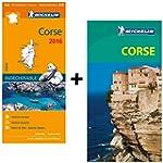 Guide Vert Corse + Carte routi�re Corse