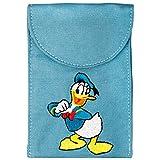 Disney DYPBDONALD Universal Tasche für zugänglichen Handy-Modellen, Apple iPod Nano,Fotoapparaten Ultra Slim blau