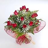 Ramo de 20 rosas rojas naturales FLORES FRESCAS-ENVIO EN 24 HORAS