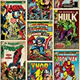 Graham & Brown Héros Marvel ? Multicolore-Multicolore Papier Peint