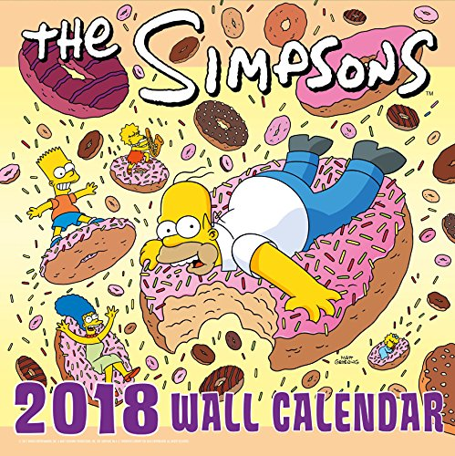 The Simpsons Official 2018 Calendar - Sq...