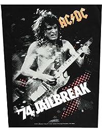 AC/DC dos Badges '74jailbreak Back Patch écusson