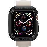 Spigen Tuff rustning designad för Apple Watch fodral för 44 mm serie 4 (2018) – svart
