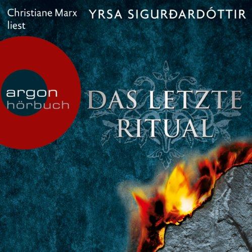 Buchseite und Rezensionen zu 'Das letzte Ritual (Dóra Guðmundsdóttir 1)' von Yrsa Sigurðardóttir