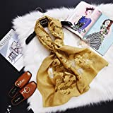 Solid Color Scarf Cut Flower Exposed Women Silk Scarf Yarn Towel, Sunscreen Air Conditioning Solid Color,13,190Cm
