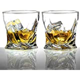 Ecooe 2 x Whiskeygläser Whisky Glas Set Whiskybecher 300ml