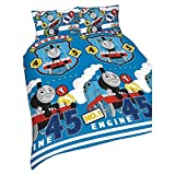 Thomas & Friends Repeat Print design 'patch set copripiumino singolo, multicolore