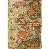 Antiguo Mapas Póster Mini de 28cm x43cm 11inx17in # 7