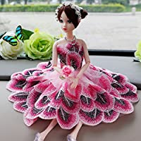 Zantec Doll Accessories Fashion Wedding Dress Accessories Clothing Series for Barbie Doll Toy (Not Include Doll)