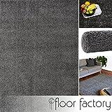 Alfombra moderna Colors gris antracita 120x170cm - alfombra shaggy al precio súper económico