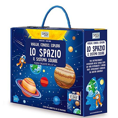 Lo spazio. Il sistema solare. Viaggia, conosci, esplora. Ediz. a colori. Con puzzle
