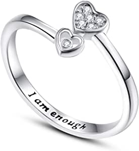 TANGPOET Thumb Ring 925 Sterling Silver Adjustable Open Ring WAS £22.99 NOW £11.50 w/code WZRI2GTS + 5% voucher @ Amazon