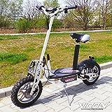 Elektro Scooter 1000 Watt E-Scooter Roller 36V / 1000W Elektroroller - Viron V.7 (weiss)