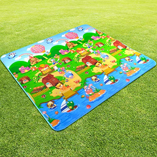 StillCool Bebé Crawl Mat Niños Playmat Niño Que Juega Alfombra Picnic Blanke (200 * 180CM)