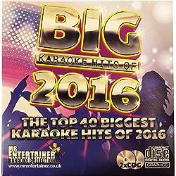 Il top 40biggest karaoke hits del 2016, utilizza le migliori canzoni karaoke del 2017. Garanzia di un party Starter. Fornito come un doppio CD + g dischi set, mostrando sullo schermo testi durante la riproduzione in qualsiasi CD + g karaoke. Mr ente...