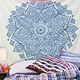Kinlo Polyester 200x150cm Unique Wall Hanging Art Decor Mandala Wandbehang Hippie indische Tapisserie