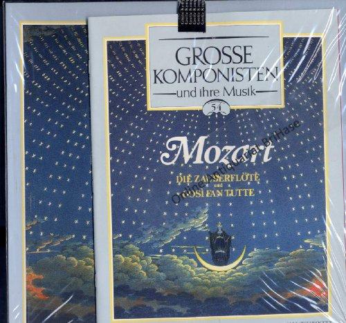 """Große Komponisten und ihre Musik 54 Mozart """"Die Zauberflöte"""" & """"Gosi Fan Tutte"""" inkl. Begleitheft"""