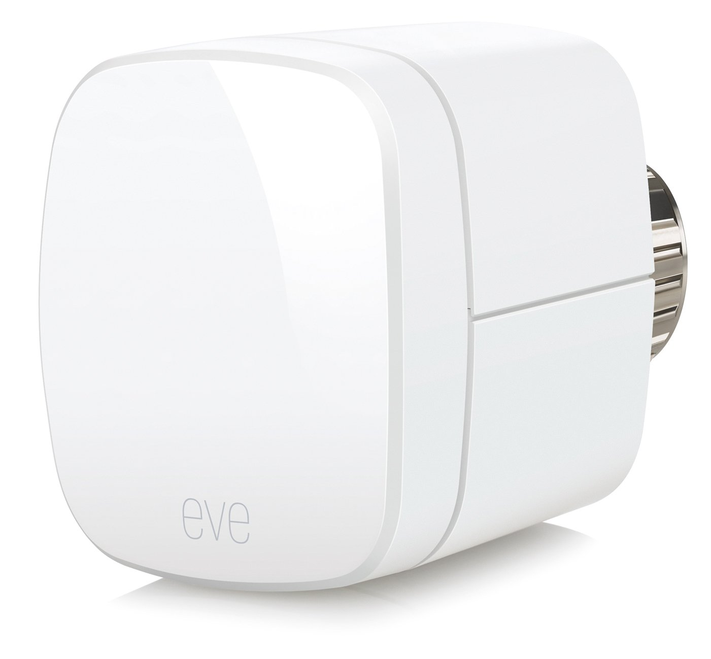 Elgato Eve Thermo (modèle précédent) – Vanne de radiateur thermostatique sans fil avec technologie HomeKit d'Apple, Bluetooth Low Energy